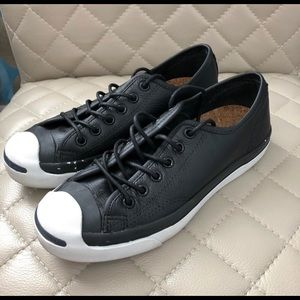 Converse Jack Purcell leather shoes